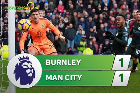 Ket qua Burnley 1-1 Man City