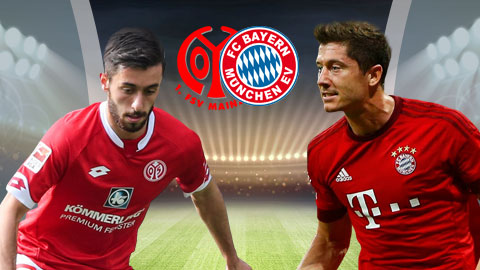 Nhan dinh Mainz vs Bayern Munich 21h30 ngay 32 (Bundesliga 201718) hinh anh