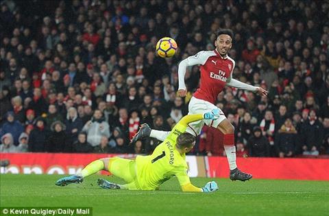 Aubameyang vs Everton
