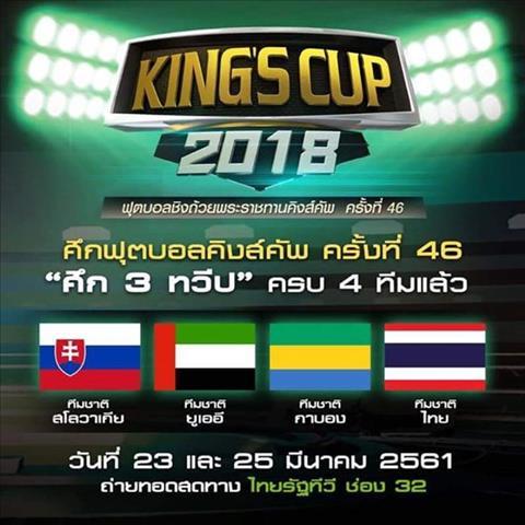 Thai Lan choi troi, moi DTQG cua Aubameyang du King's Cup 2018 hinh anh