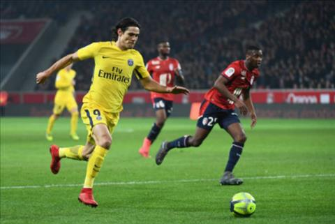 Tong hop Lille 0-3 PSG (Vong 24 Ligue 1 201718) hinh anh