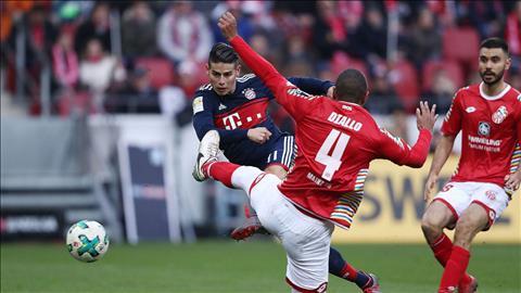 Mainz 0-2 Bayern Munich Dang cap ngoi sao hinh anh