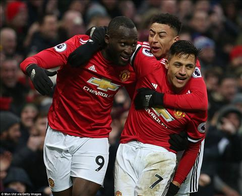 Du am MU 2-0 Huddersfield Tuyet voi Alexis Sanchez hinh anh