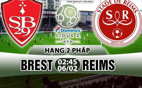 Nhan dinh Brest vs Reims 02h45 ngay 62 (Hang 2 Phap 201718) hinh anh