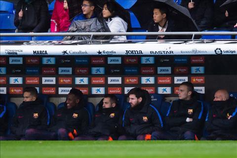Du am Espanyol 1-1 Barca Bao gio ho moi cho Messi duoc tho hinh anh