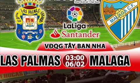 Nhan dinh Las Palmas vs Malaga 03h00 ngay 62 (La Liga 201718) hinh anh