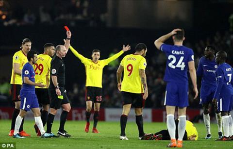 Du am Watford 4-1 Chelsea Conte dien dao vi tien ve Bakayoko hinh anh 2