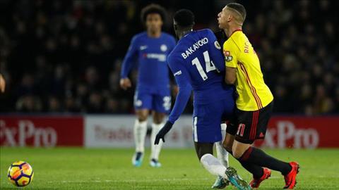 Du am Watford 4-1 Chelsea Conte dien dao vi tien ve Bakayoko hinh anh