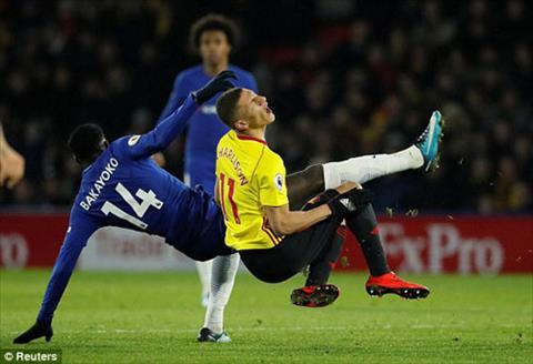 Du am Watford 4-1 Chelsea Conte dien dao vi tien ve Bakayoko hinh anh 3