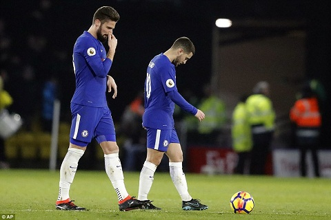 Tien ve Eden Hazard giai thich vi sao Chelsea sa sut  hinh anh 2
