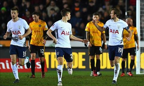 Tottenham vs Newport