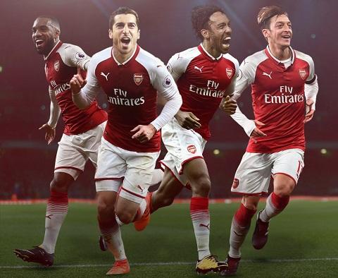 Bo tu cua Arsenal