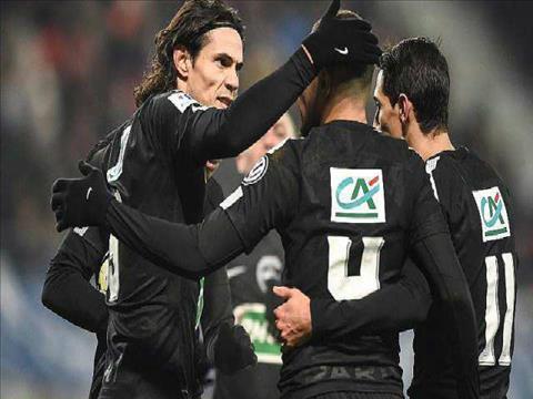 Tong hop: Sochaux 1-4 PSG (Cup quoc gia Phap 2017/18)