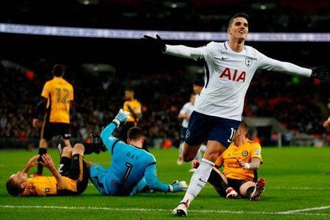 Tong hop Tottenham 2-0 Newport (Da lai vong 4 FA Cup 201718) hinh anh