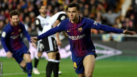 HLV Valverde tiet lo ly do de Coutinho du bi truoc Valencia hinh anh