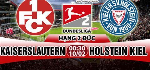 Nhan dinh Kaiserslautern vs Holstein 00h30 ngay 102 (Hang 2 Duc) hinh anh