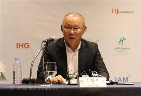 HLV Park Hang Seo du le boc tham Asian Cup 2019 hinh anh