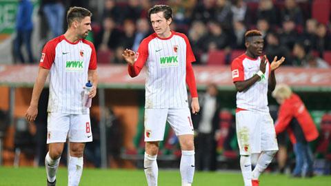 Nhan dinh Leipzig vs Augbsurg 02h30 ngay 102 (Bundesliga 201718) hinh anh