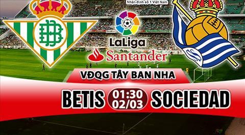 Nhan dinh Betis vs Sociedad 01h30 ngay 23 (La Liga 201718) hinh anh
