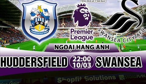 Nhan dinh Huddersfield vs Swansea 22h00 ngay 103 (Premier League 201718) hinh anh