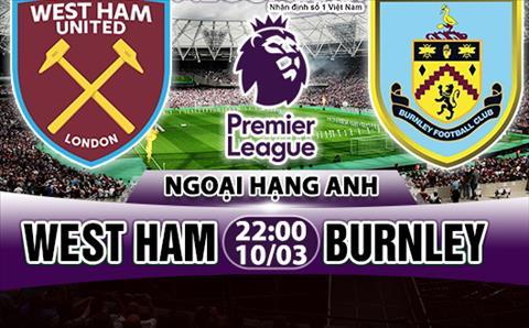 Nhan dinh West Ham vs Burnley 22h00 ngay 103 (Premier League 201718) hinh anh