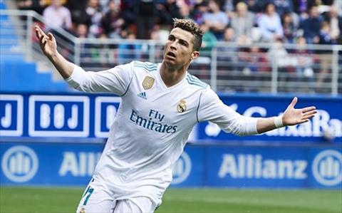 Toa sang truoc Eibar, Ronaldo duoc Zidane tung len may hinh anh