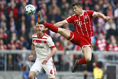 Tong hop Bayern Munich 6-0 Hamburg (Vong 26 Bundesliga 201718) hinh anh
