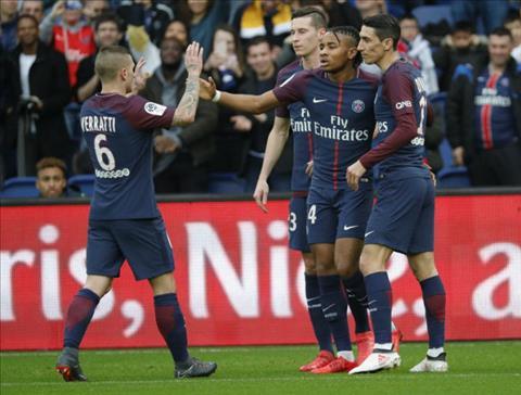 Tong hop PSG 5-0 Metz (Vong 19 Ligue 1 201718) hinh anh