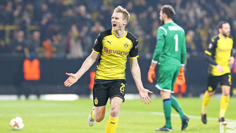 Nhan dinh Dortmund vs Frankfurt 00h00 ngay 123 (Bundesliga 201718) hinh anh