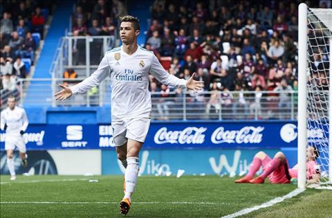 Eibar 1-2 Real Madrid Ngay Ronaldo lam lu mo Bale hinh anh