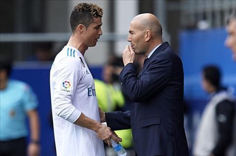 Toa sang truoc Eibar, Ronaldo duoc Zidane tung len may hinh anh 2