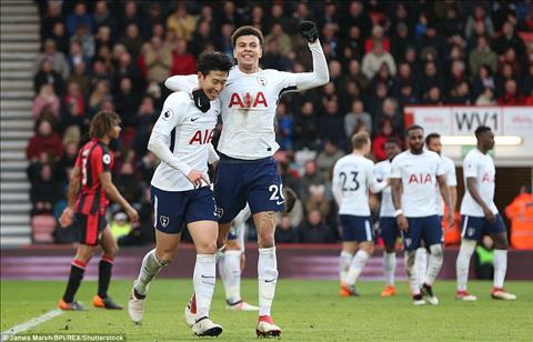 Tottenham dang choi rat tot o Premier League