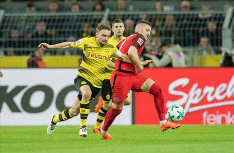 Tong hop Dortmund 3-2 Frankfurt (Vong 26 Bundesliga 201718) hinh anh