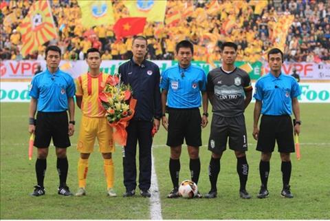 Hội CĐV Nam Định nói về sai phạm của trọng tài V-League hình ảnh