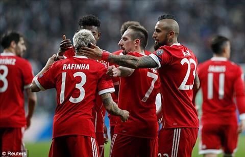 Du da thang dam o luot di, Bayern van choi nghiem tuc o luot ve de tiep tuc co chien thang thuyet phuc
