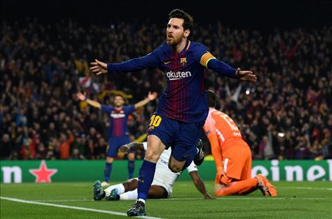Lionel Messi mo ty so cho Barca