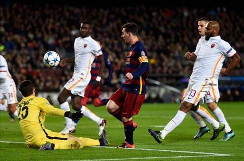 Barcelona vs AS Roma tai tu ket Champions League Bay soi run ray hinh anh 4