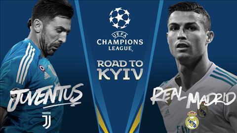 Juventus vs Real Madrid tứ kết Champions League
