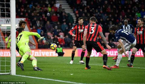 Tong hop Bournemouth 2-1 West Brom (Vong 31 Premier League 201718) hinh anh
