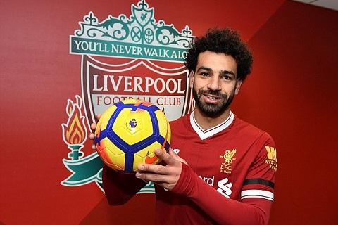 Mohamed Salah pha ky luc ghi ban cua Liverpool
