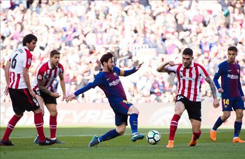 Lionel Messi Barca vs Athletic Bilbao