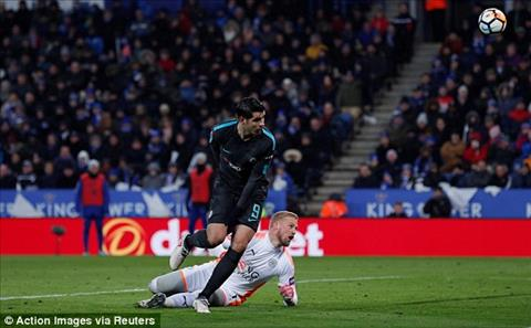 Leicester vs Chelsea Su tro lai cua sat thu Morata hinh anh 2