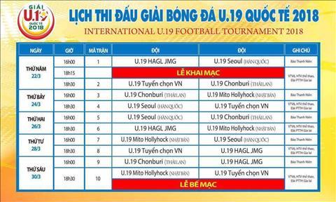 Lich thi dau giai U19 quoc te 2018 (tu 223 den 303) hinh anh