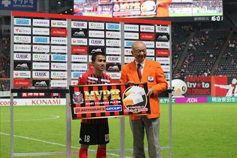 Messi Thái ghi bàn thắng đẹp mắt tại J-League 1 hình ảnh