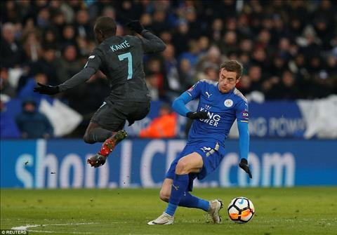 Kante duoc cham diem cao nhat tran Leicester vs Chelsea