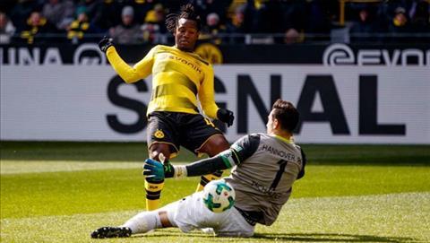 Tong hop Dortmund 1-0 Hannover (Vong 27 Bundesliga 201718) hinh anh
