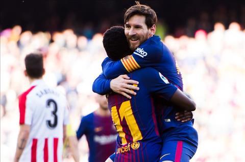 Barca thang de Bilbao Messi va dan can ve trung thanh hinh anh 4