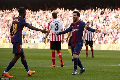 Barca 2-0 Bilbao Khi Messi da tim ra tro thu dac luc hinh anh 3