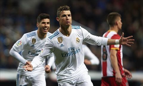 Tong hop: Real Madrid 6-3 Girona (Vong 29 La Liga 2017/18)