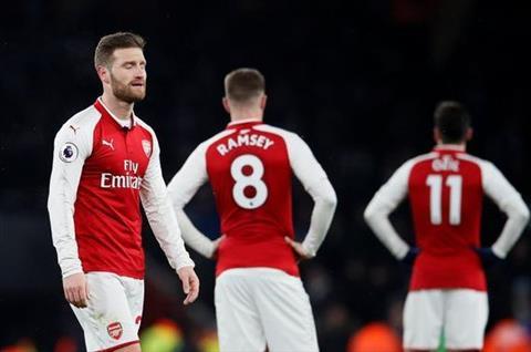 Arsenal that bai truoc Man City